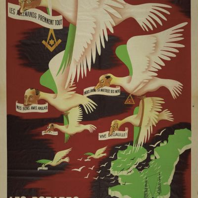 Collaboration ; Propagande ; Guerre 1939-1945 ; Anglophobie