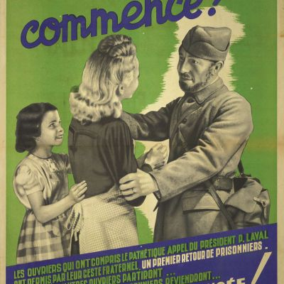 Propagande ; Collaboration ; Main d'oeuvre ; Guerre 1939-1945 ; Relève